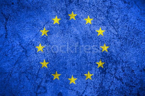 flag of Eurpean Union Stock photo © MiroNovak