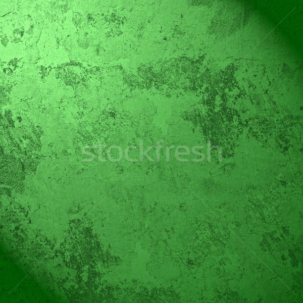 Stock fotó: Zöld · absztrakt · öreg · repedt · tapasz · textúra