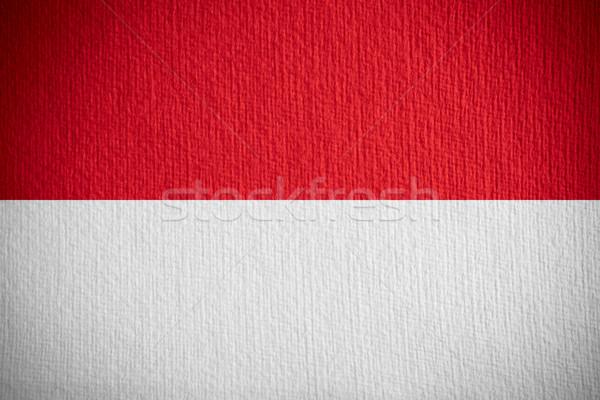 flag of Indonesia Stock photo © MiroNovak