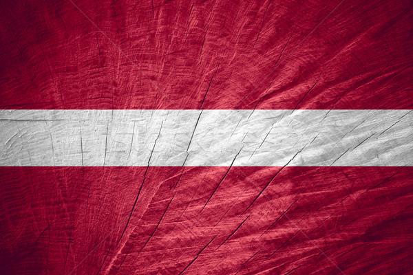 Bandeira Látvia bandeira textura Foto stock © MiroNovak