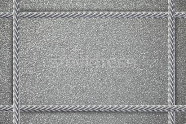 Metaal plaat vier staal abstract achtergrond Stockfoto © MiroNovak