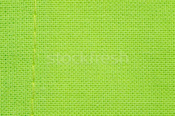 Zöld szövet hálózat minta textúra háttér Stock fotó © MiroNovak