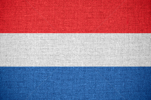 flag of Holland Stock photo © MiroNovak