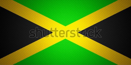 flag of Jamaica Stock photo © MiroNovak