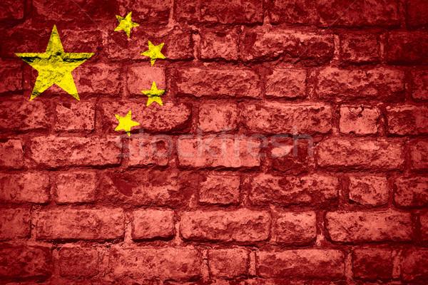 flag of China Stock photo © MiroNovak