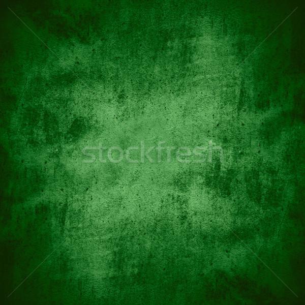 Zöld tapasz cement gabona minta textúra Stock fotó © MiroNovak