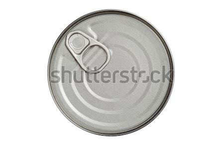 top of tin with opener Stock photo © MiroNovak