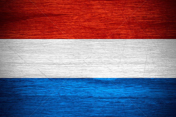 flag of the Netherlands Stock photo © MiroNovak