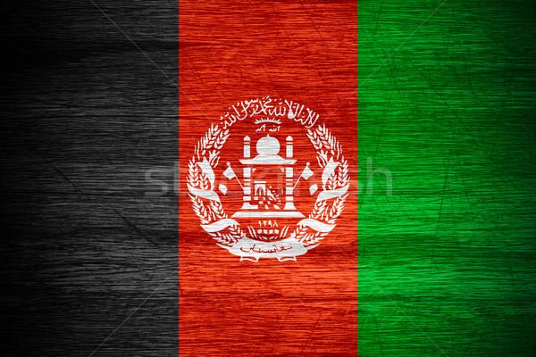 Afghanistan flag Stock photo © MiroNovak