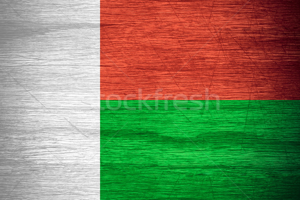 flag of Madagascar Stock photo © MiroNovak