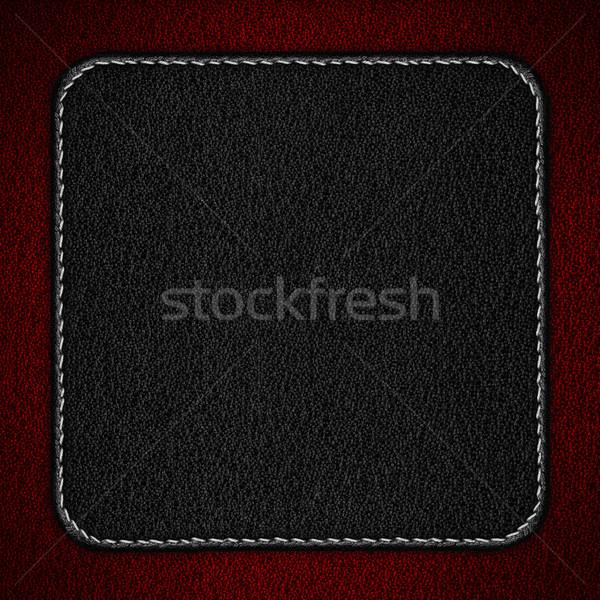 black leather background Stock photo © MiroNovak