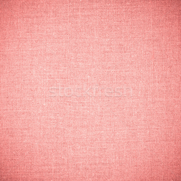 red abstract linen background Stock photo © MiroNovak