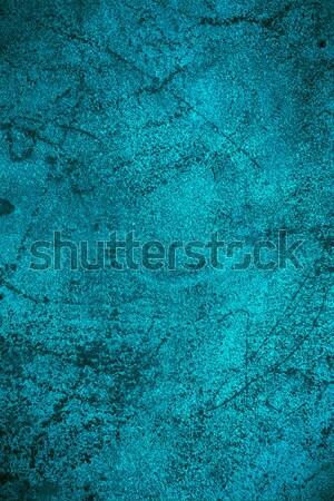 turquoise rust metal background Stock photo © MiroNovak