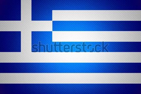 Bandera Finlandia banner resumen textura Foto stock © MiroNovak
