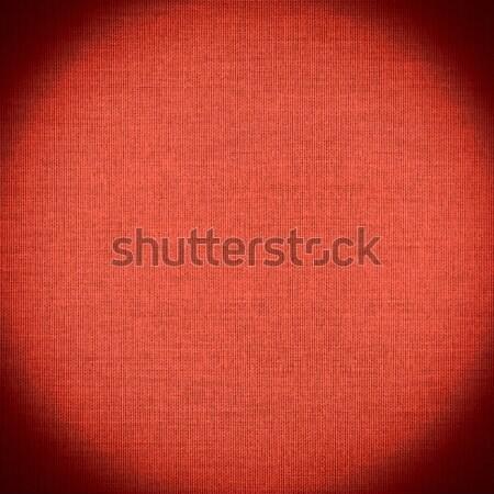 Piros vászon vászon hálózat minta textúra Stock fotó © MiroNovak