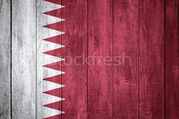 Bandeira Catar bandeira textura fundo Foto stock © MiroNovak