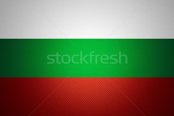 Zászló Bulgária szalag absztrakt textúra Stock fotó © MiroNovak