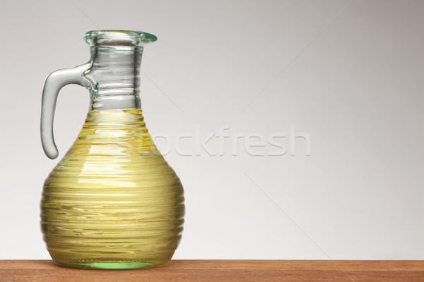 vegetable oil in bottle Stock photo © MiroNovak
