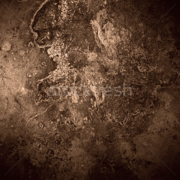 brown old rust metal plate background Stock photo © MiroNovak