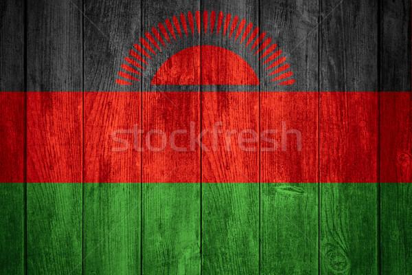 флаг Малави баннер текстуры фон Сток-фото © MiroNovak