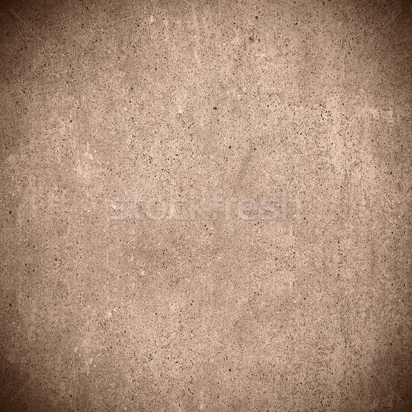 Barna absztrakt cement gabona minta textúra Stock fotó © MiroNovak