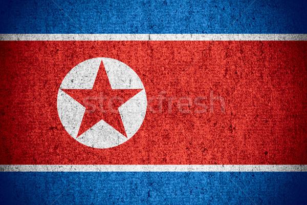 Zászló észak szalag durva minta textúra Stock fotó © MiroNovak