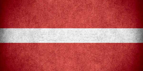 flag of Latvia Stock photo © MiroNovak