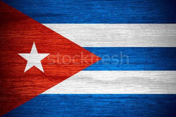 Cuba flag Stock photo © MiroNovak