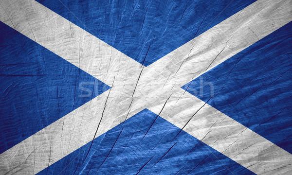 Banderą Szkocji banner tekstury Zdjęcia stock © MiroNovak