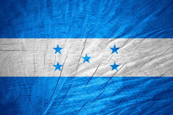 Bandeira Honduras bandeira textura Foto stock © MiroNovak
