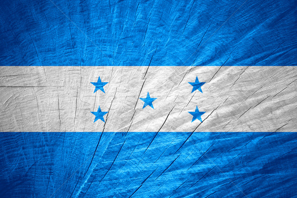 флаг Гондурас баннер текстуры Сток-фото © MiroNovak