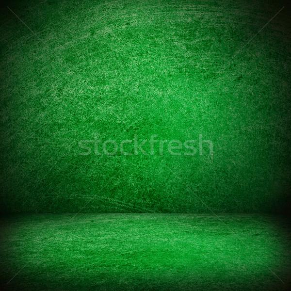 Zöld textúra színpad űr szín terv Stock fotó © MiroNovak