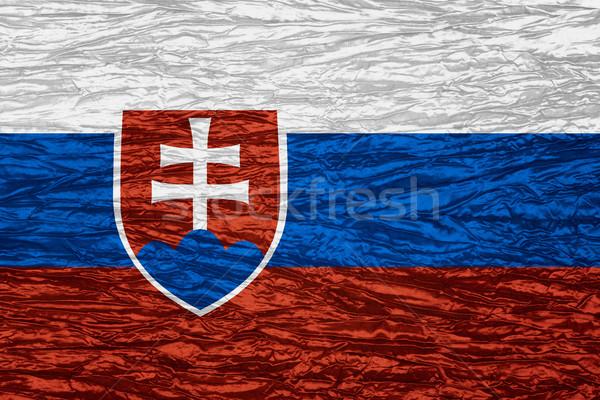 flag of Slovakia Stock photo © MiroNovak