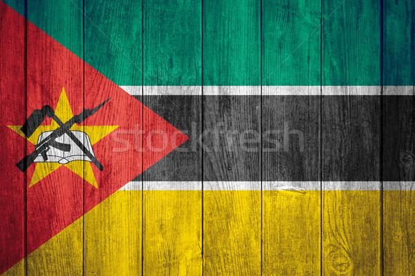 flag of Mozambique Stock photo © MiroNovak