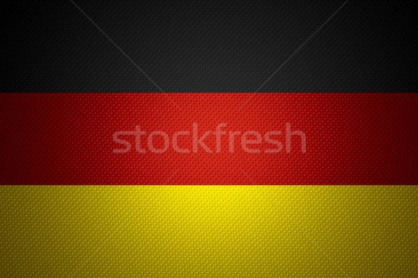 Bandeira Alemanha bandeira abstrato textura Foto stock © MiroNovak