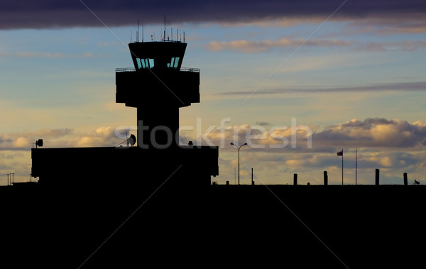 Aiport control tower  Stock photo © mirusiek