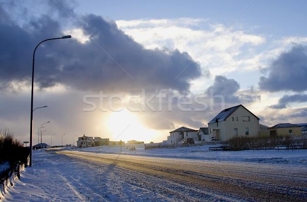 Winter time Stock photo © mirusiek
