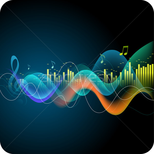 Music background Stock photo © Misha