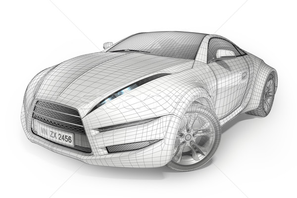 Concept car Stock photo © Misha