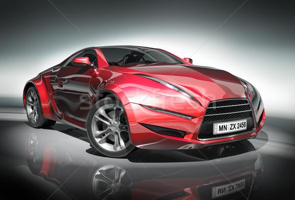 Stock fotó: Autó · enyém · saját · terv · logo · autógumi