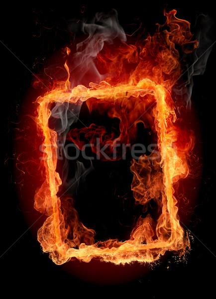 Fire frame Stock photo © Misha