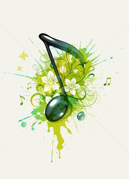 Musical note Stock photo © Misha