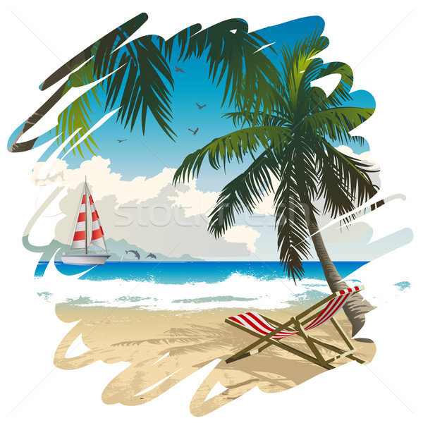 Tropical paradise Stock photo © Misha