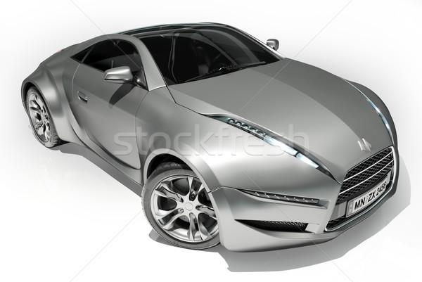 Autó enyém saját terv logo sebesség Stock fotó © Misha
