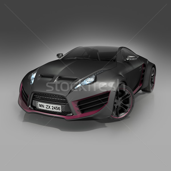 Hybride voiture propre design Photo stock © Misha