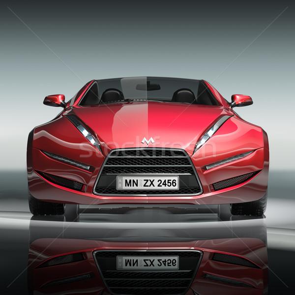 Propre voiture design logo Photo stock © Misha