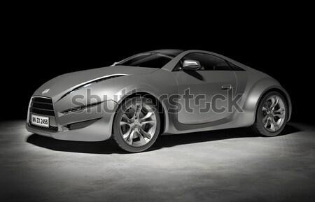 Autó enyém saját terv logo luxus Stock fotó © Misha