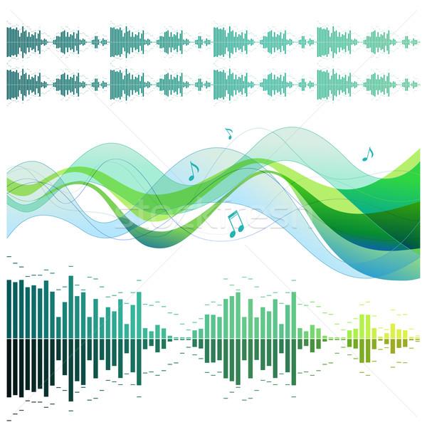 Soundwaves Stock photo © Misha