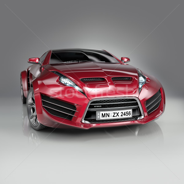 Hybride voiture propre design Photo stock © Misha