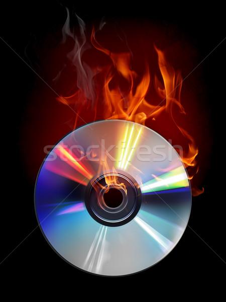 Burn disc Stock photo © Misha